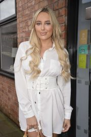 Amber Turner - Attend at Beauty Launch in Manchester