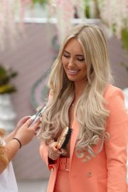 Amber Turner - In a photoshoot wearing Envy Shoes at the Wiki Woo Hotel in Ibiza