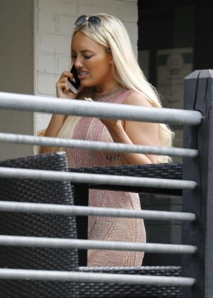 Amber Turner out in Essex