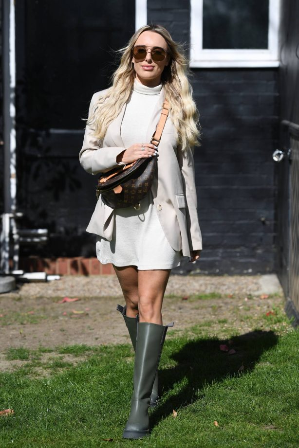 Amber Turner - Posing at The Only Way is Essex TV Show in Essex