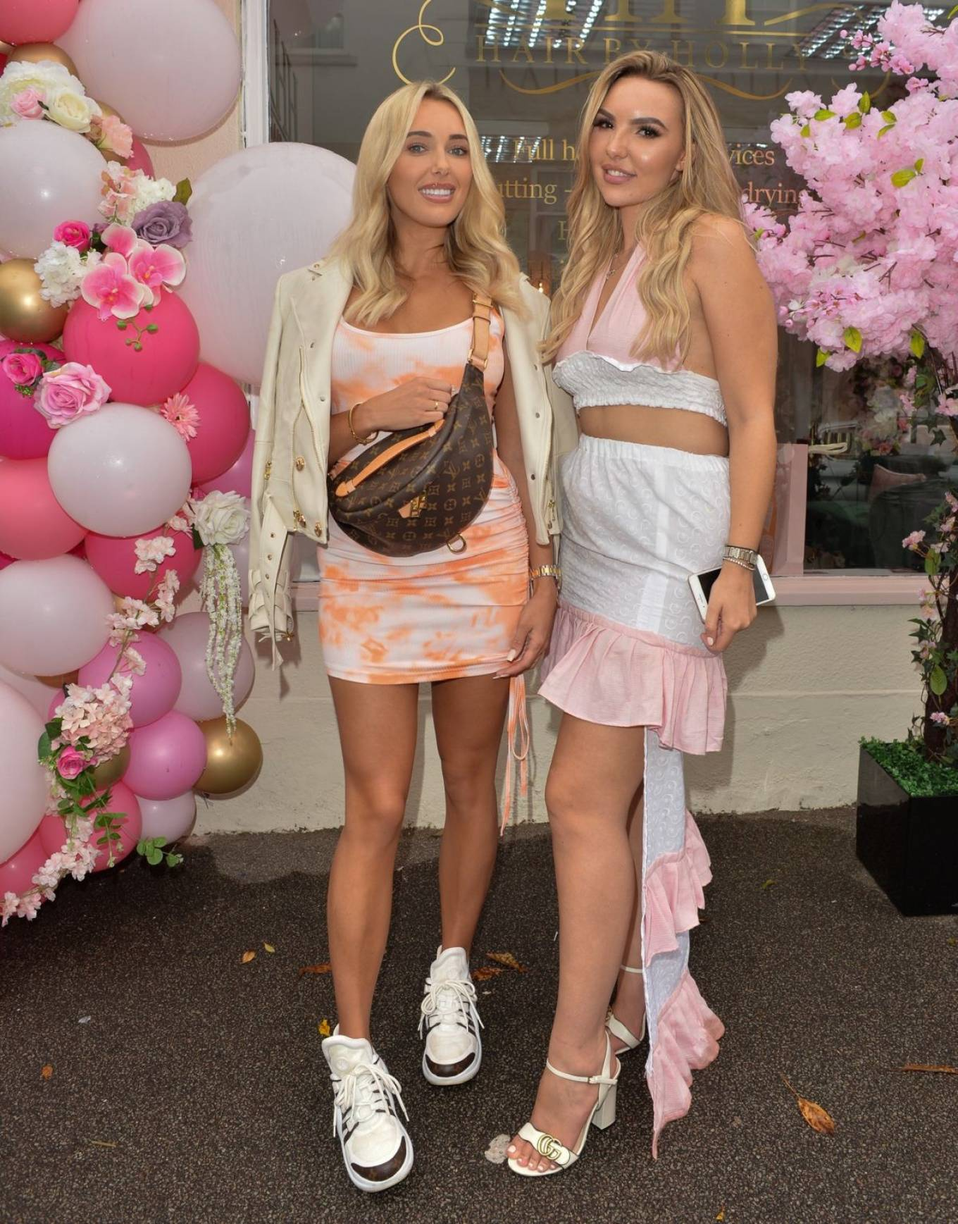 Amber Turner 2020 : Amber Turner – Possing at Hair by Holly Salon Opening in Buckhurst Hill-04