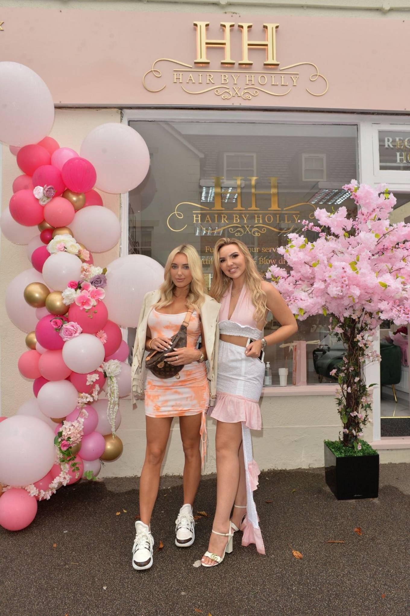 Amber Turner 2020 : Amber Turner – Possing at Hair by Holly Salon Opening in Buckhurst Hill-05