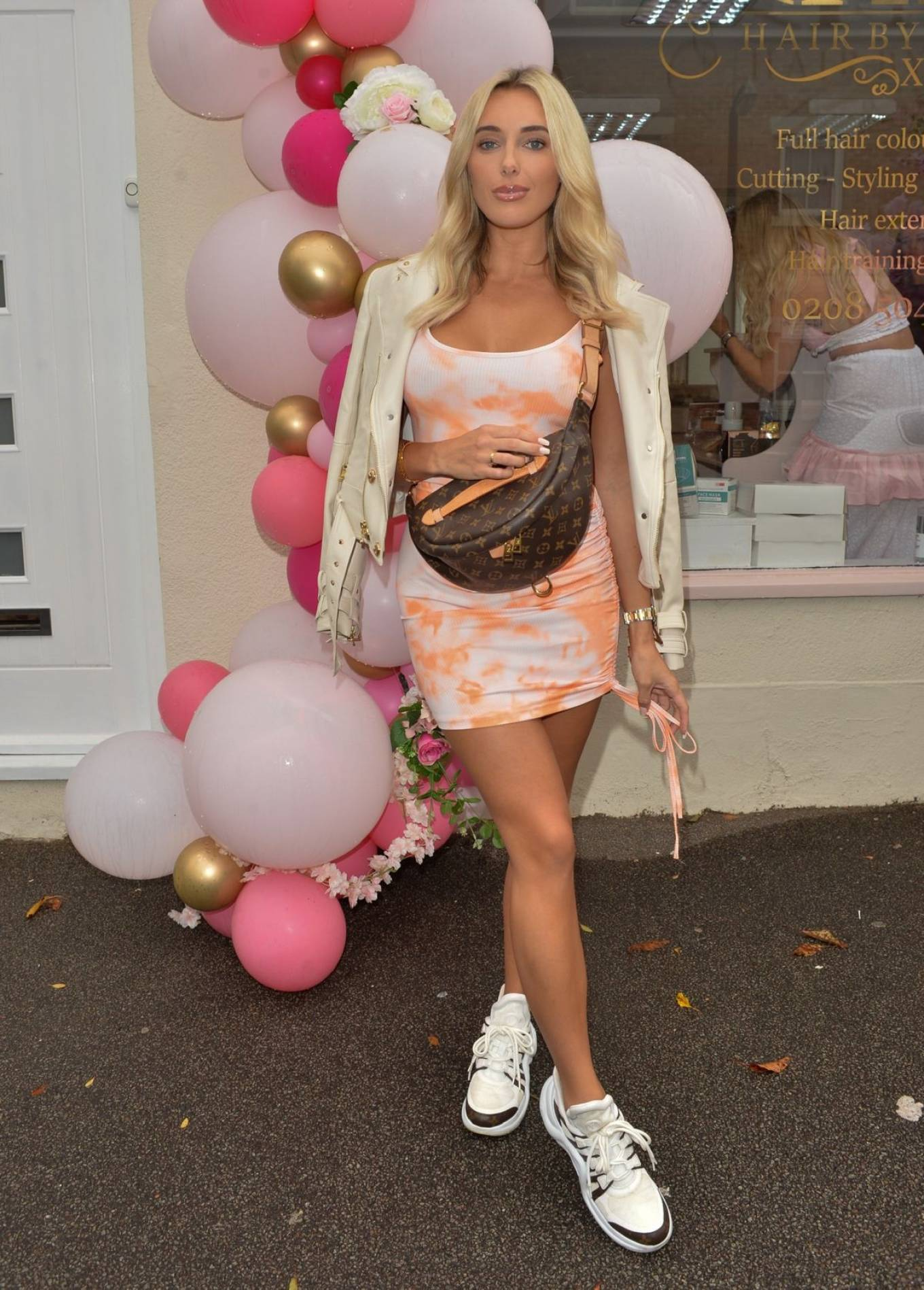 Amber Turner 2020 : Amber Turner – Possing at Hair by Holly Salon Opening in Buckhurst Hill-06