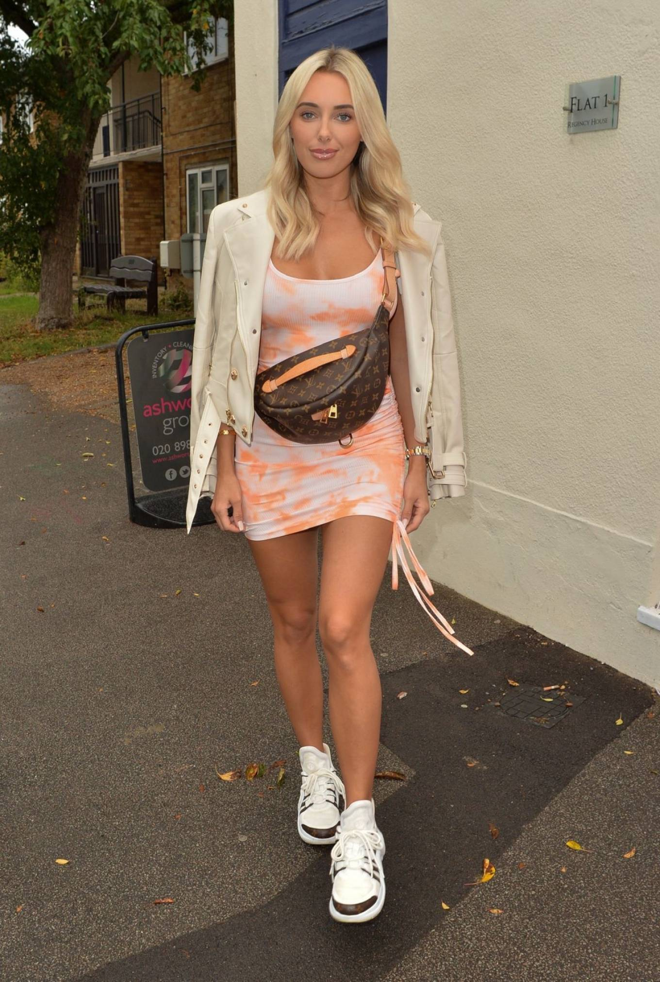 Amber Turner 2020 : Amber Turner – Possing at Hair by Holly Salon Opening in Buckhurst Hill-07