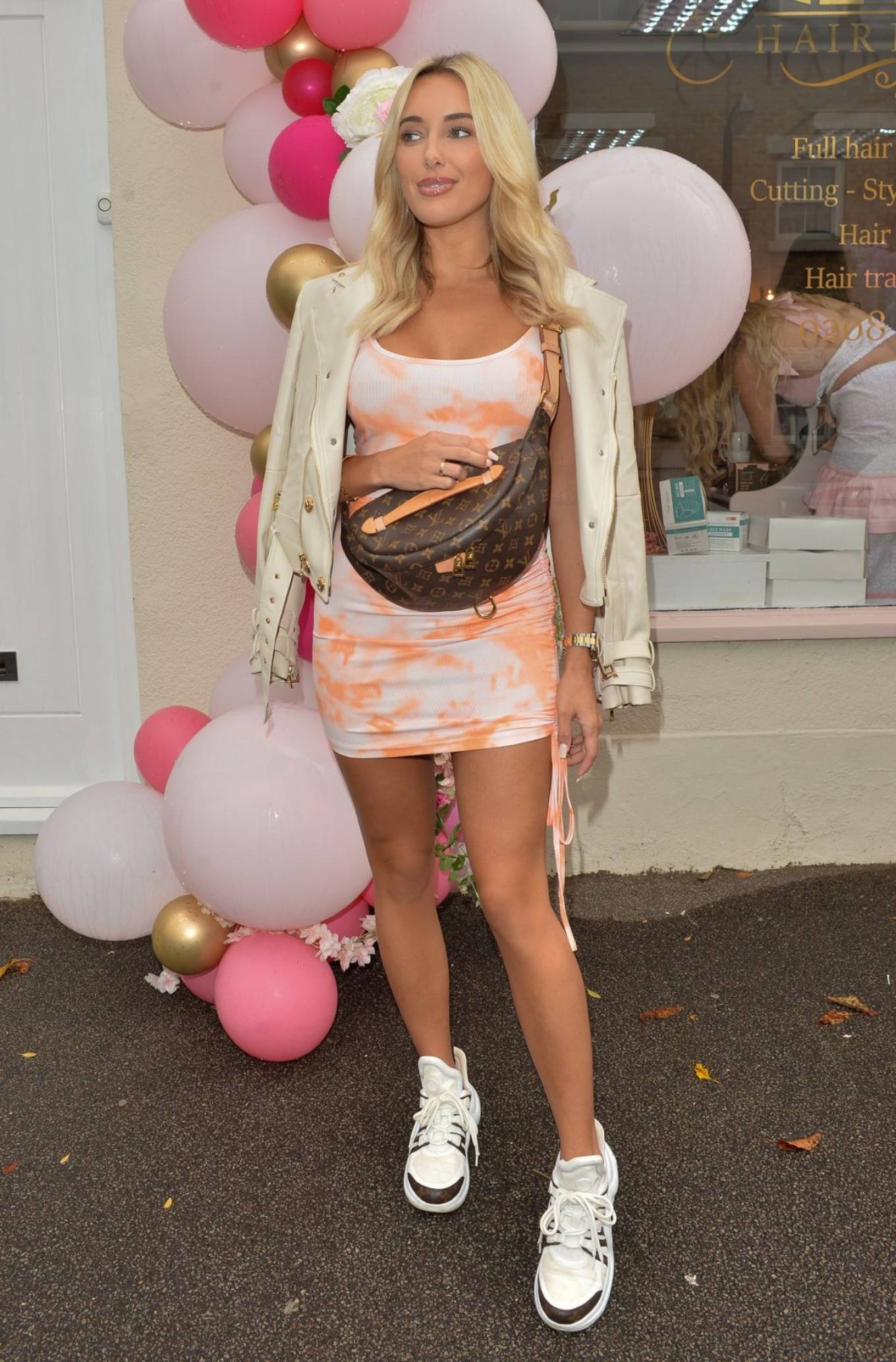 Amber Turner 2020 : Amber Turner – Possing at Hair by Holly Salon Opening in Buckhurst Hill-09