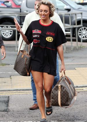Amber Turner - 'The Only Way Is Essex' TV show filming in Brentwood