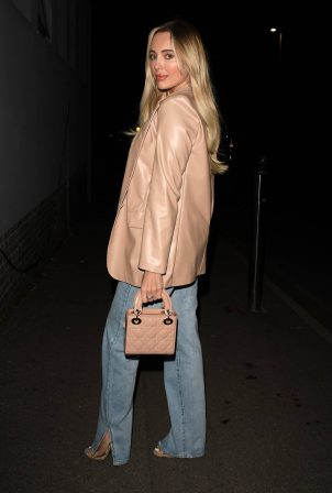 Amber Turner - The Only Way is Essex TV Show filming in Essex