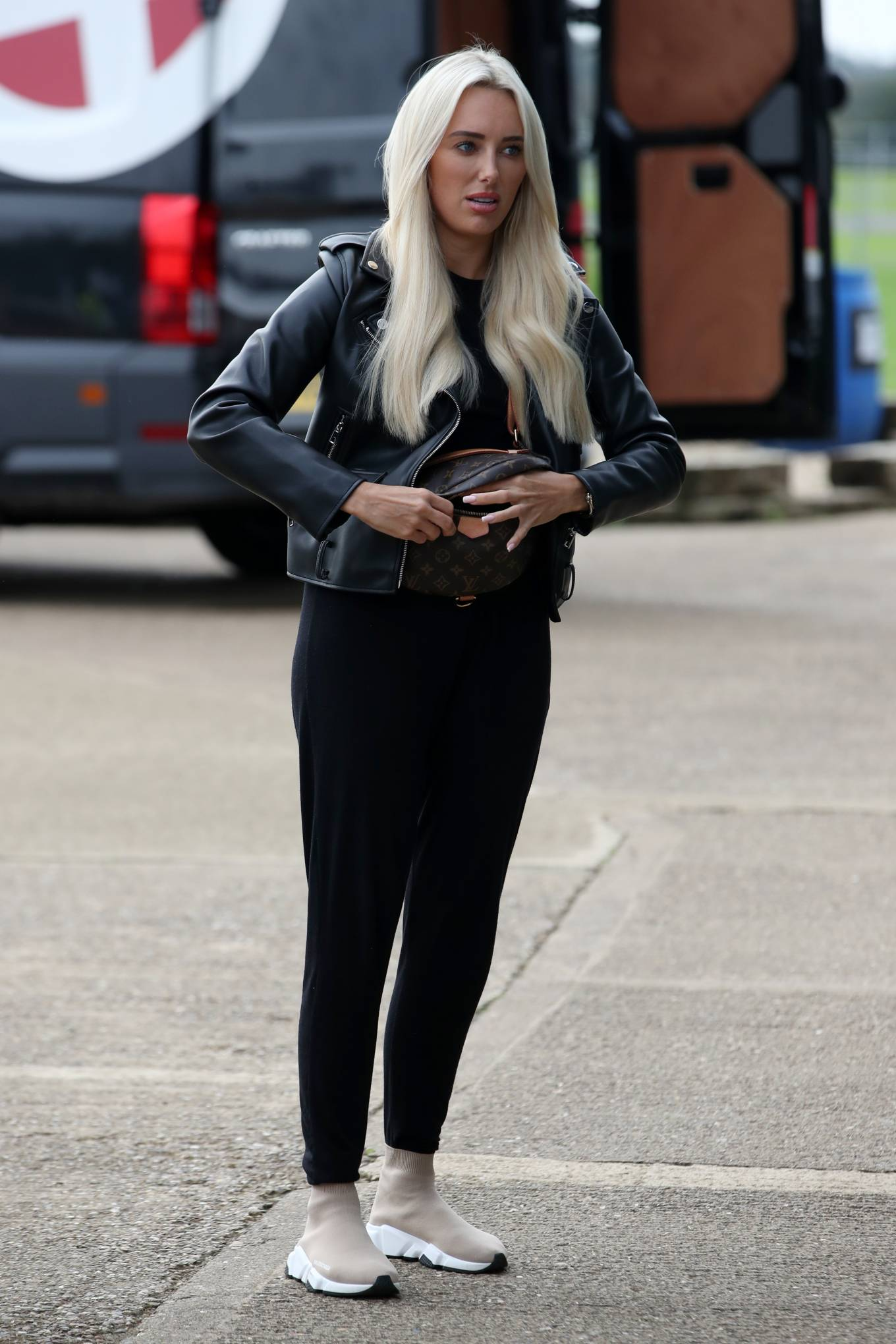 Amber Turner 'The Only Way is Essex' TV show set
