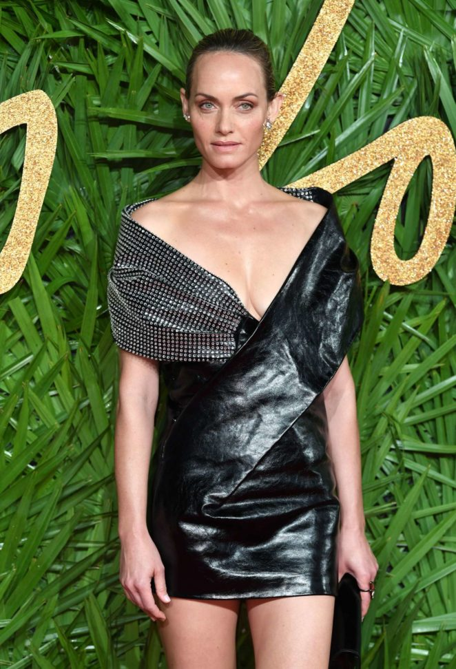 Amber Valletta - 2017 Fashion Awards in London