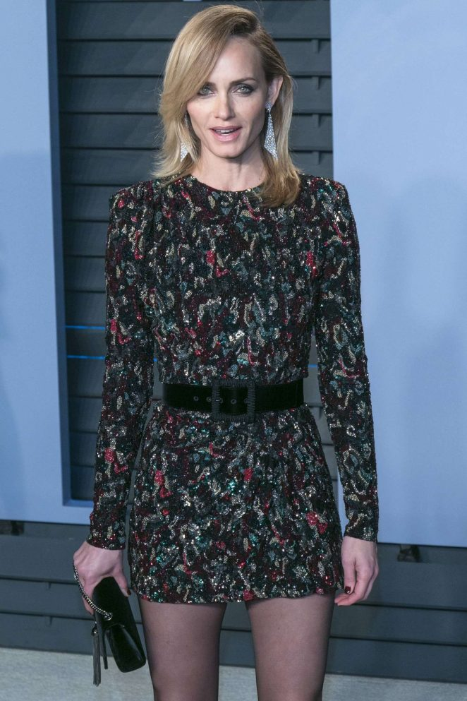 Amber Valletta - 2018 Vanity Fair Oscar Party in Hollywood