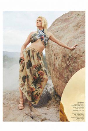 Amber Valletta - British Vogue (April 2021)