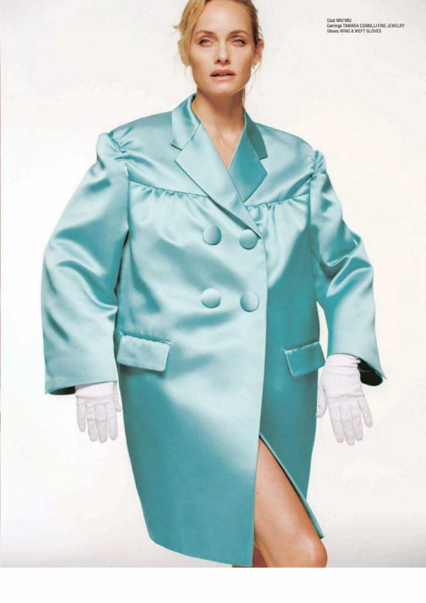 Amber Valletta - CR Fashion Book #16 S/S 2020