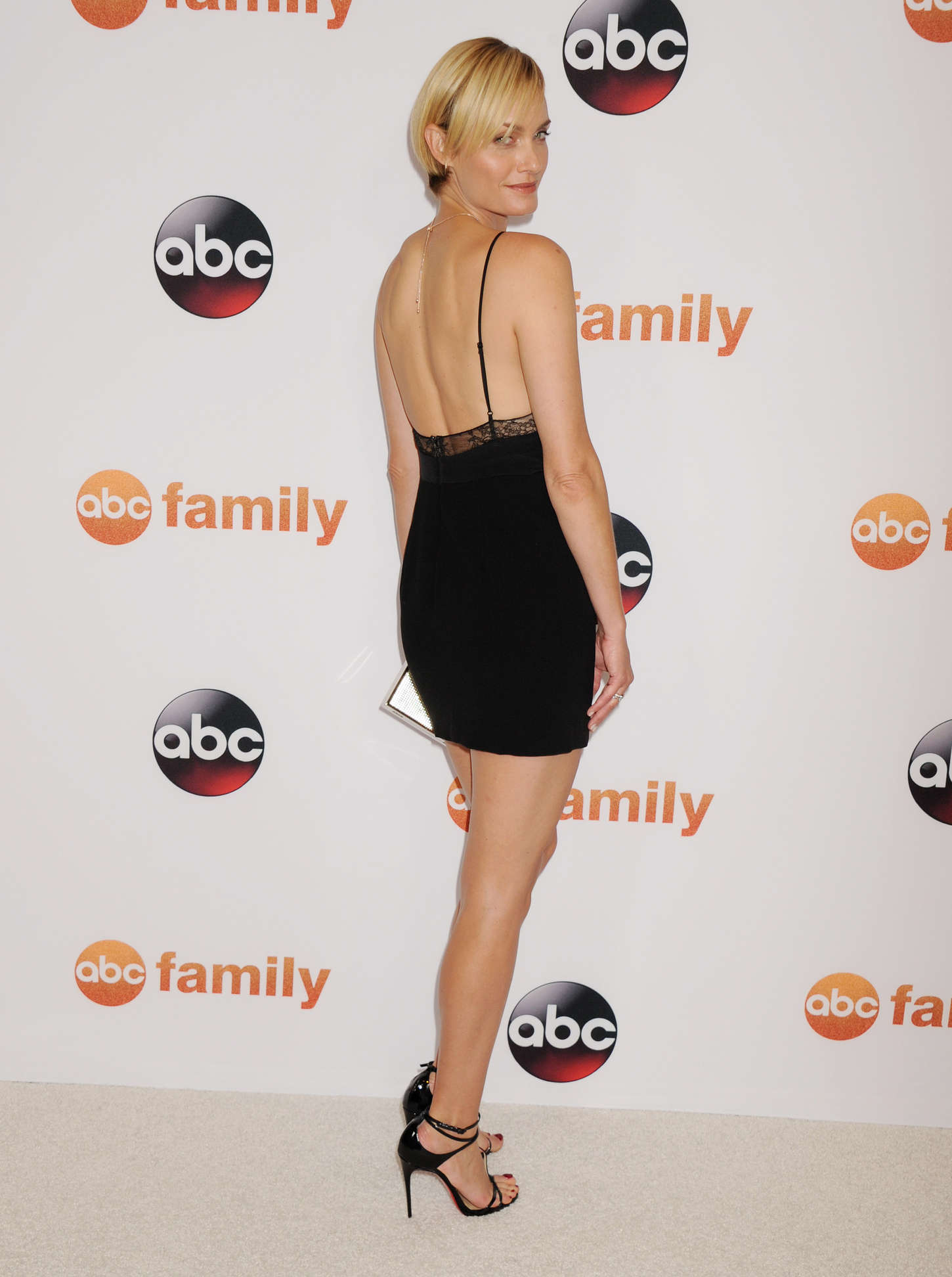 Amber Valletta: Disney ABC 2015 Summer TCA Press Tour Photo Call