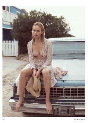 Amber Valletta for Vogue UK Magazine (May 2017)
