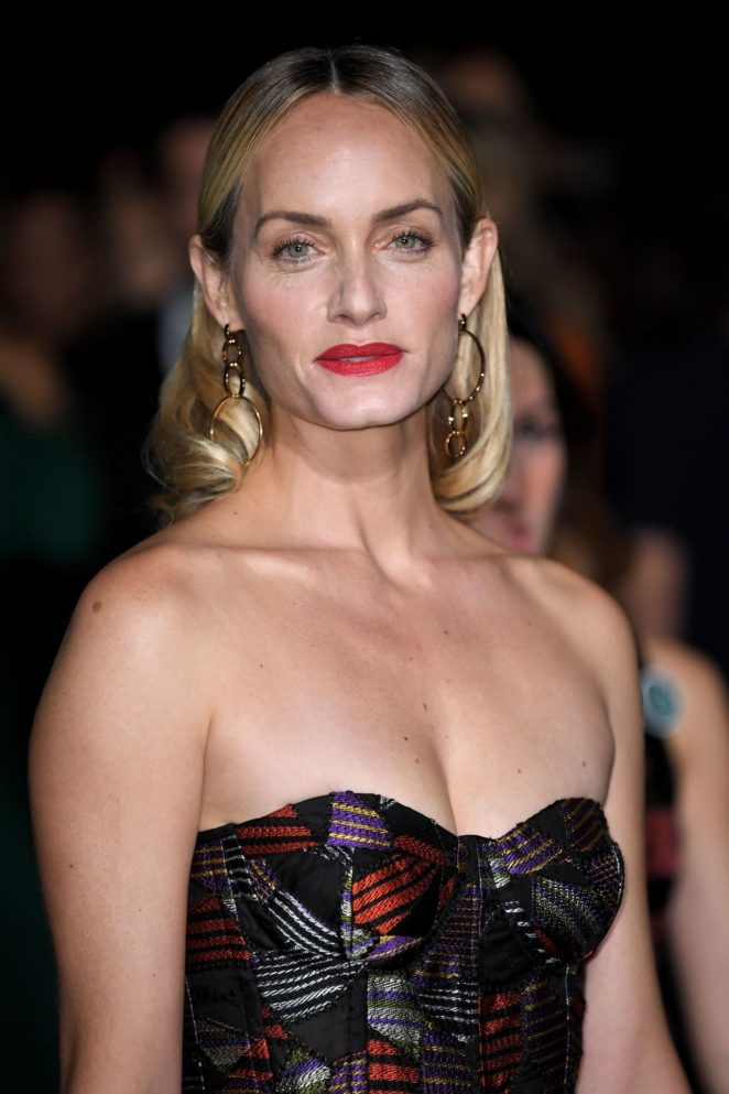 Amber Valletta – Green Carpet 2017 Fashion Awards in Italia