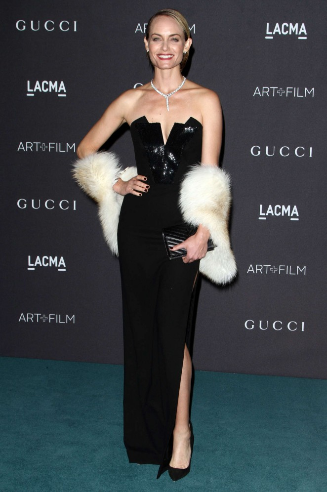 Amber Valletta - LACMA 2015 Art+Film Gala in Los Angeles