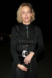 Amber Valletta on New Year in West Hollywood