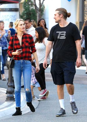 Amber Valletta out shopping at The Grove in Los Angeles