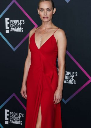 Amber Valletta - People's Choice Awards 2018 in Santa Monica