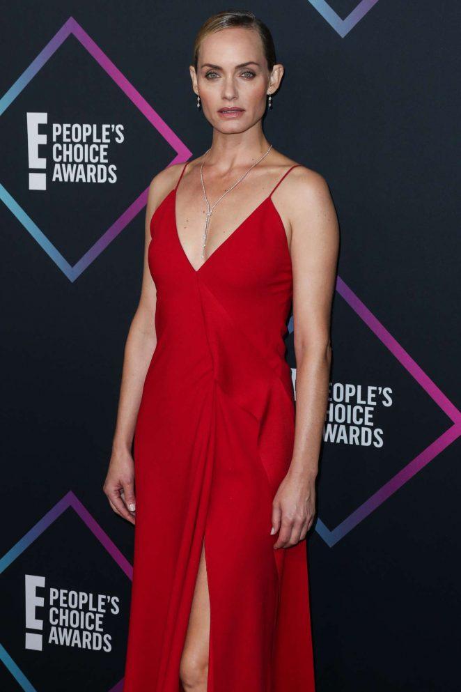 Amber Valletta – People's Choice Awards 2018 in Santa Monica