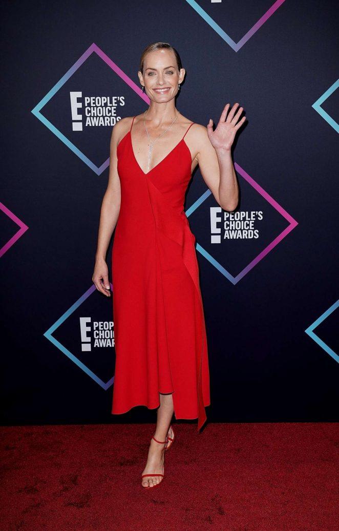 Amber Valletta 2018 : Amber Valletta: Peoples Choice Awards 2018 -07