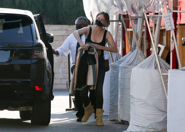 Amber Valletta 2021 : Amber Valletta – Seen at Matsuhisa in Beverly Hills-01