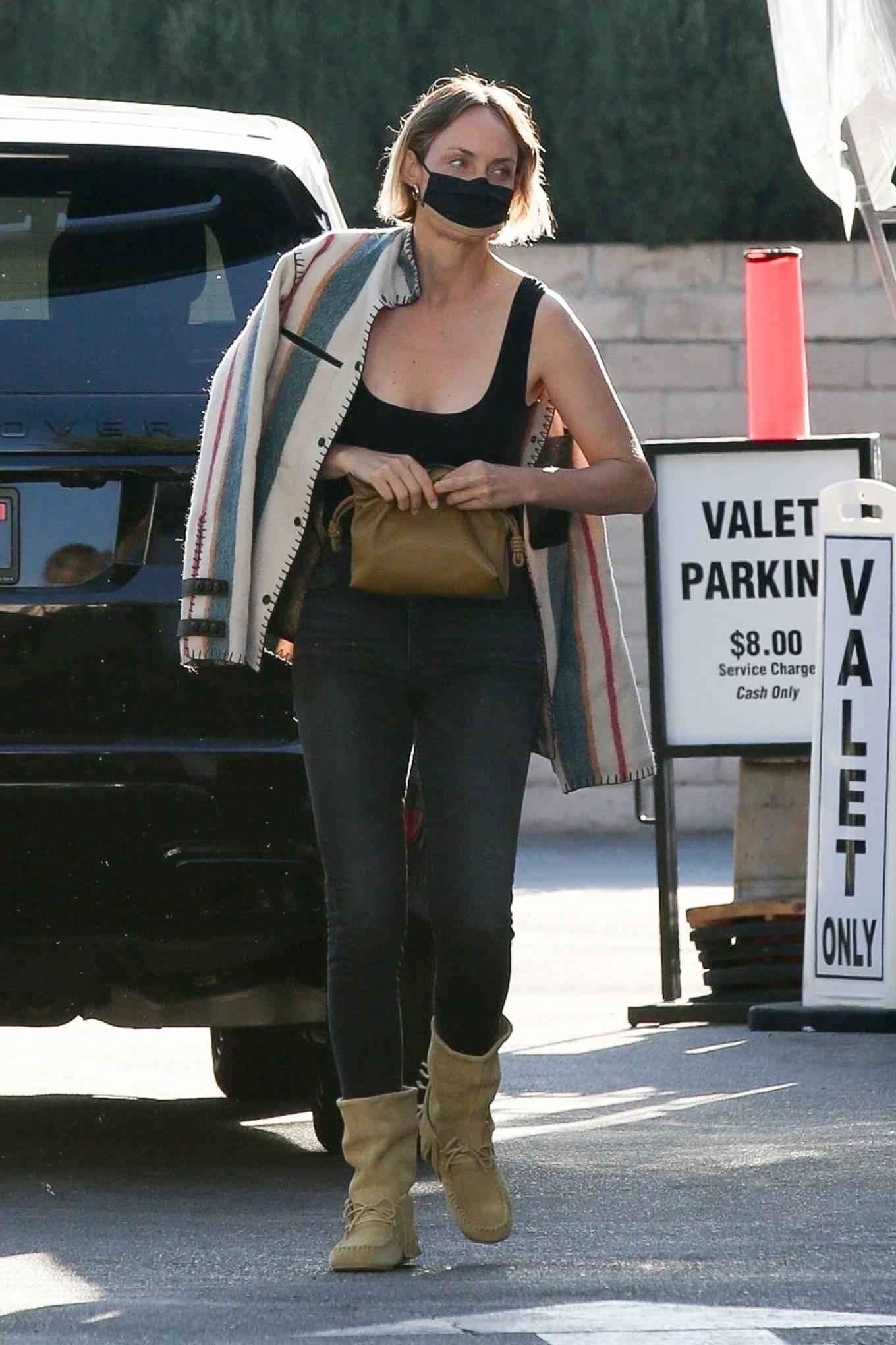 Amber Valletta 2021 : Amber Valletta – Seen at Matsuhisa in Beverly Hills-04