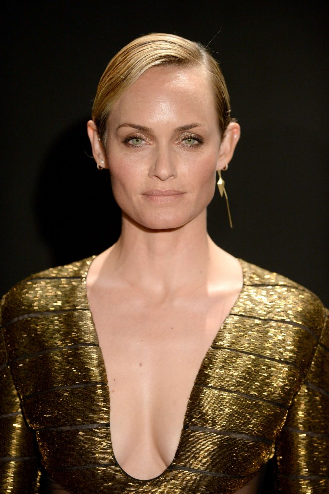 Amber Valletta: Tom Ford 2015 Womenswear Collection ...