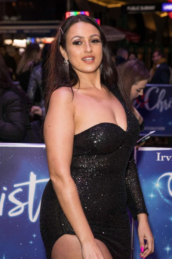 Amel Rachedi - White Christmas Musical Press Night in London