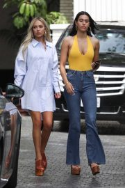 Amelia and Delilah Hamlin at Chateau Marmont in Los Angeles