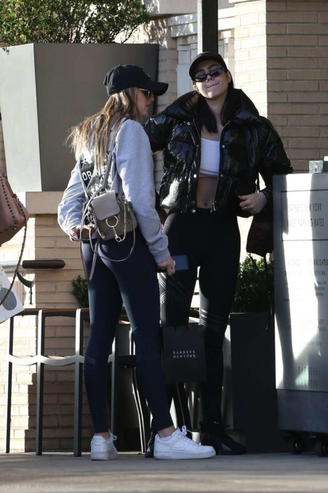 Amelia and Delilah Hamlin - Shopping at Barney's New York in Beverly Hills