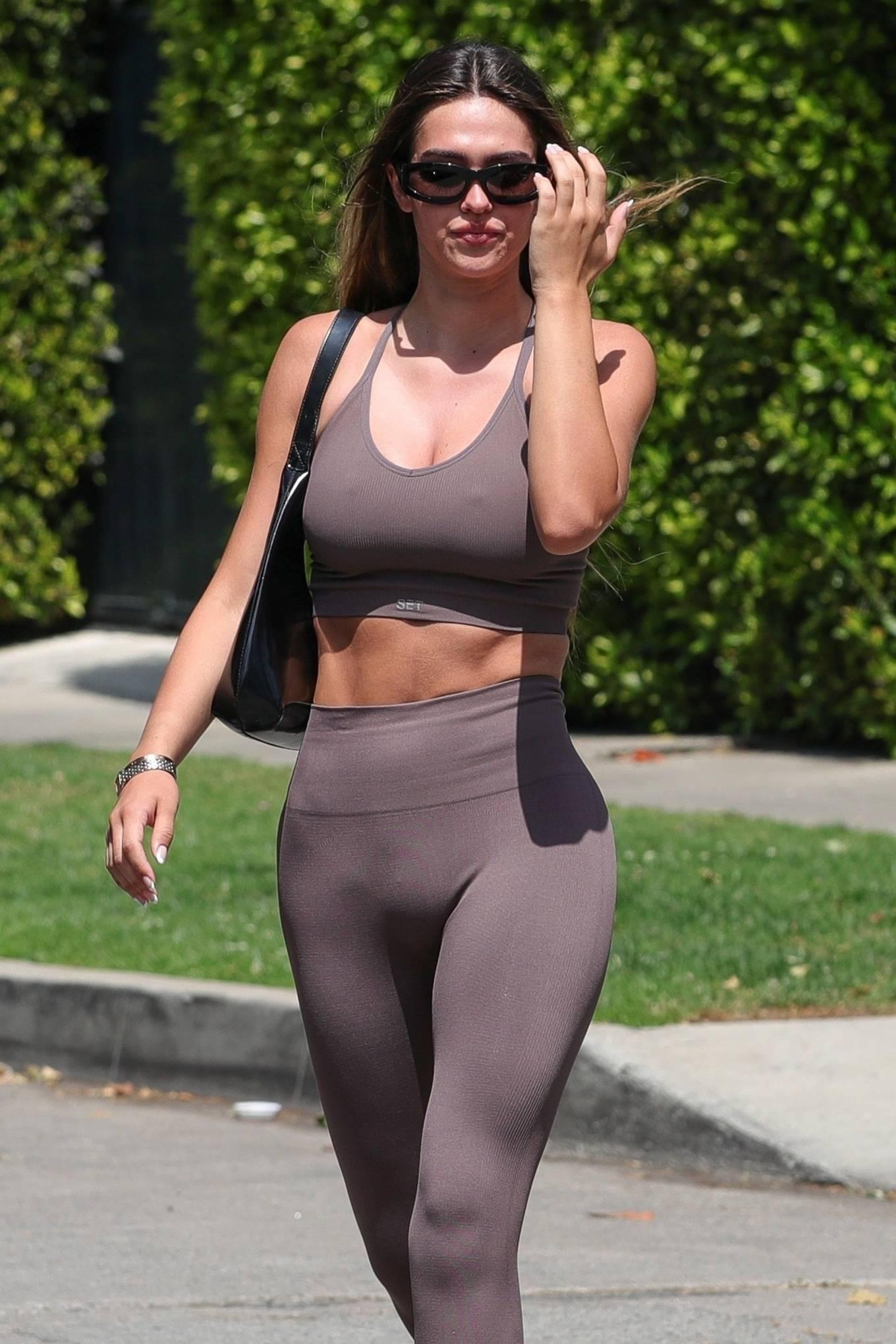 Amelia Gray Hamlin 2021 : Amelia Gray Hamlin – In SETactive workout wear and Yeezy slides in West Hollywood-14