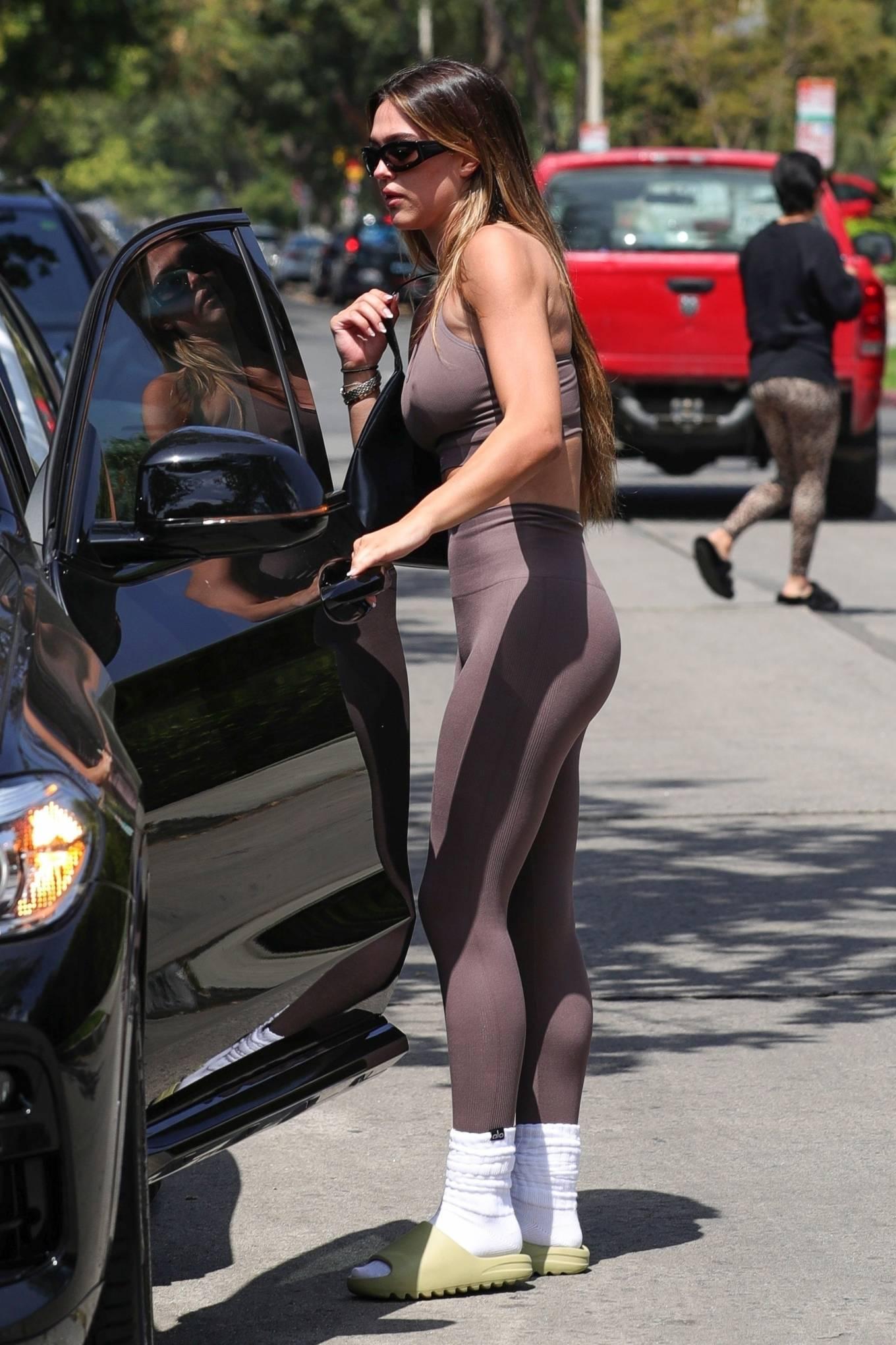 Amelia Gray Hamlin 2021 : Amelia Gray Hamlin – In SETactive workout wear and Yeezy slides in West Hollywood-24