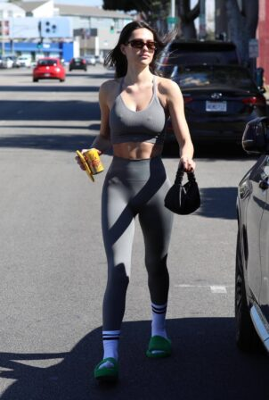 Amelia Gray Hamlin - Seen leaving a pilates workout in West Hollywood