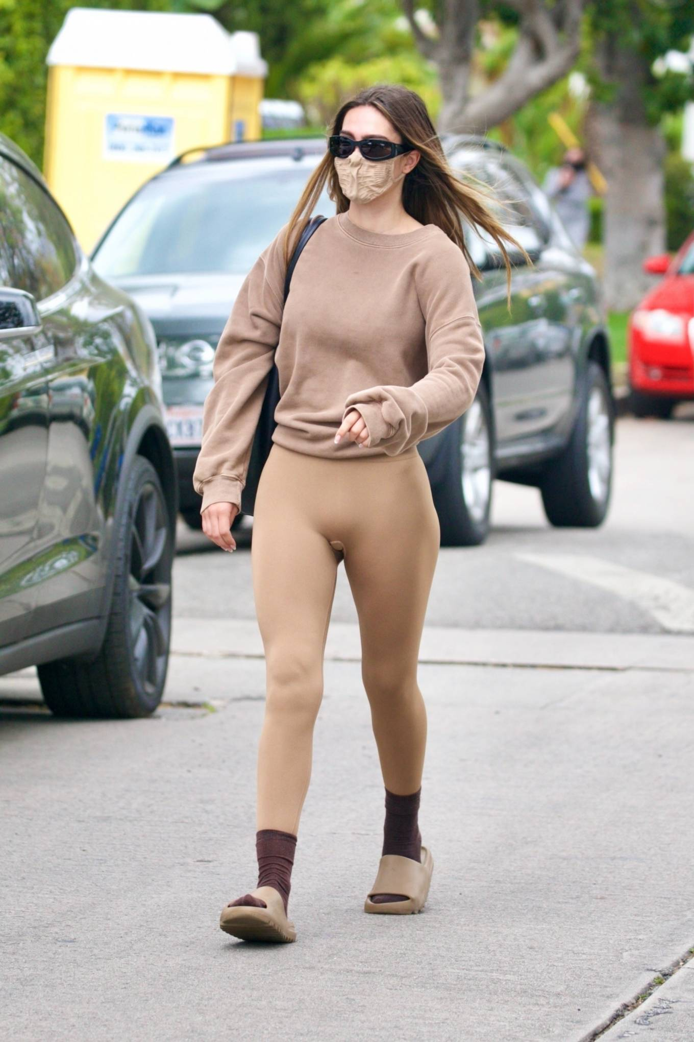 Amelia Gray Hamlin 2021 : Amelia Gray Hamlin – Steps out for pilates session in West Hollywood-08