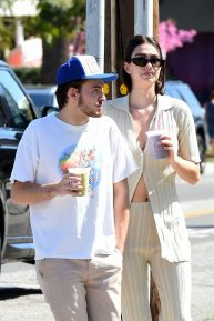 Amelia Hamlin and boyfriend Mercer Wiederhorn - Out in West Hollywood