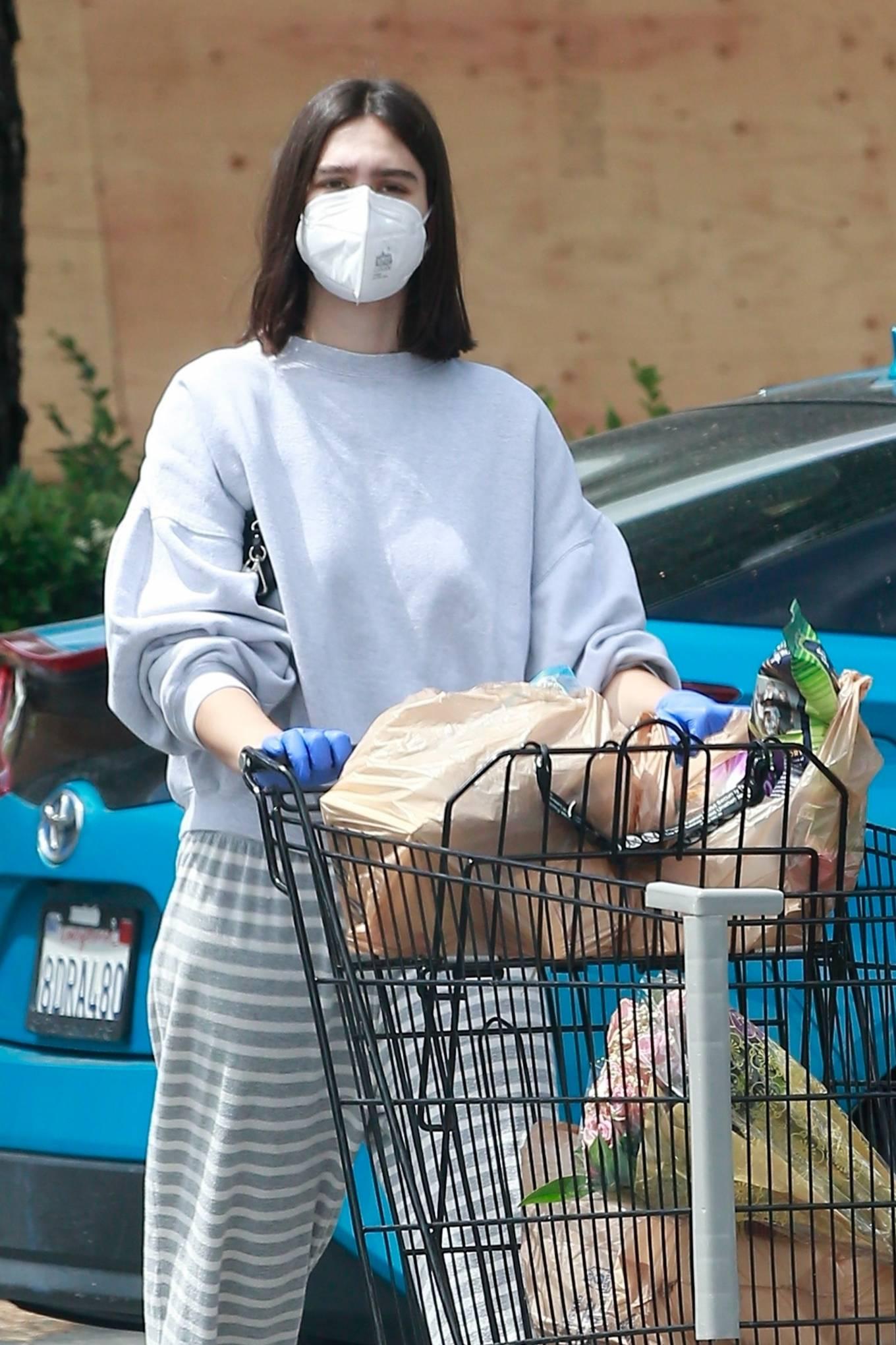 Amelia Hamlin - Getting some groceries in Studio City