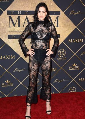 Amelia Hamlin - Maxim Hot 100 event in Hollywood