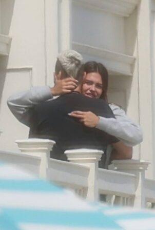 Amelia Hamlin - Melts in Scott's arms in Montecito