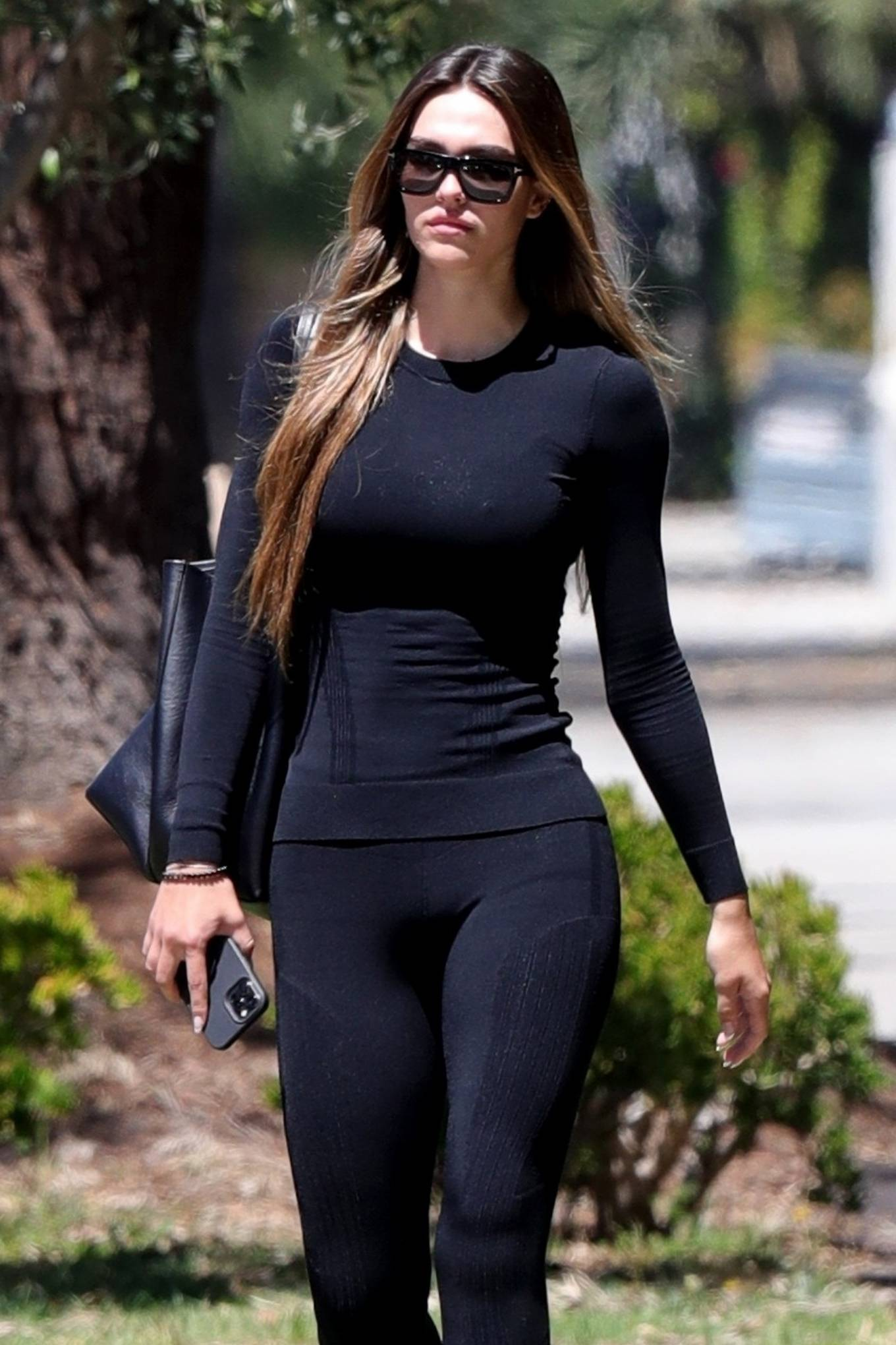 Amelia Hamlin - Seen after her Pilates class in West Hollywood