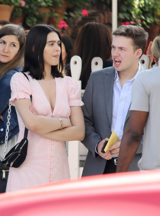 Amelia Hamlin - Seen with friends after lunch at The Ivy in Beverly Hills