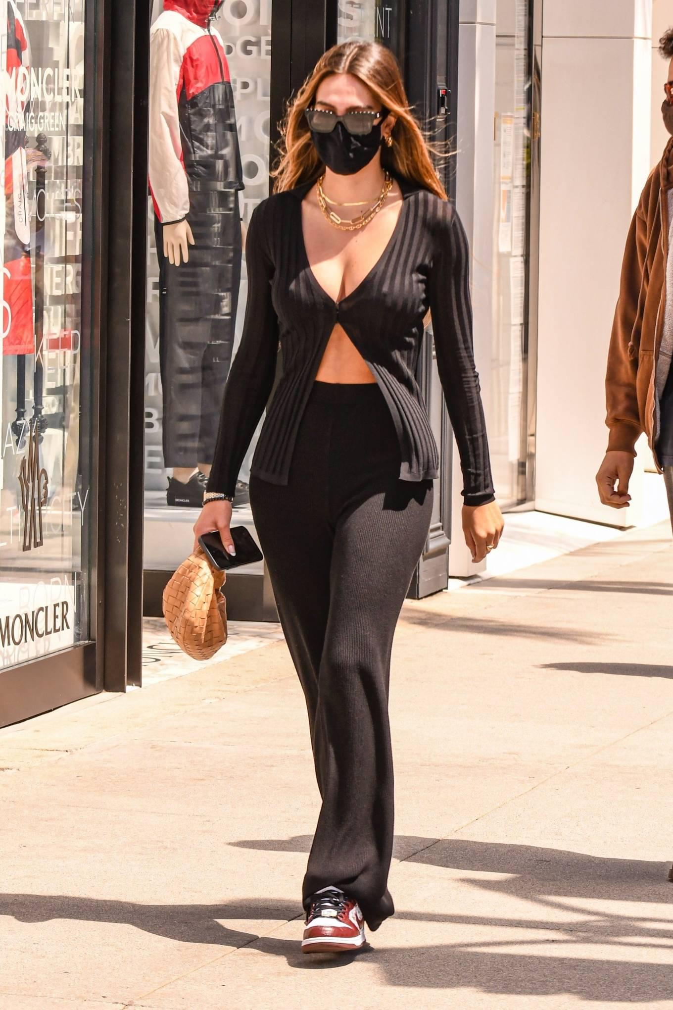 Amelia Hamlin - Shopping candids in Beverly Hills