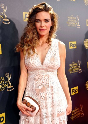 Amelia Heinle - 2015 Daytime Emmy Awards in Burbank