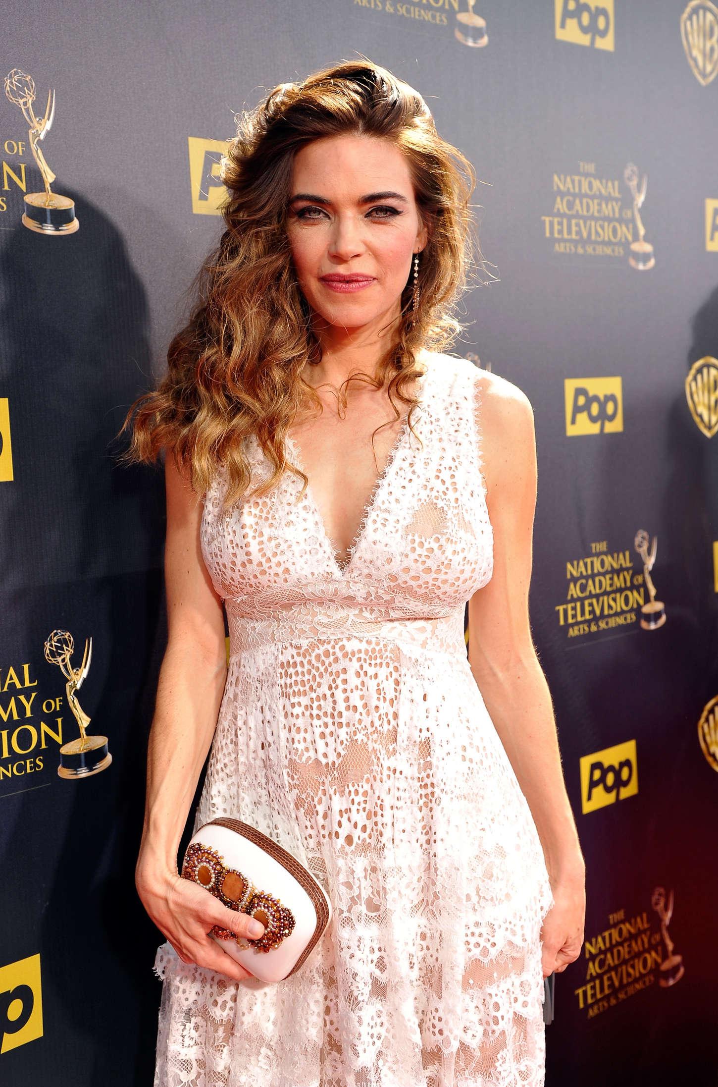 Amelia Heinle - 2015 Daytime Emmy Awards in Burbank