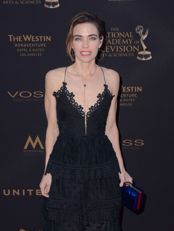 Amelia Heinle - 2016 Daytime Creative Arts Emmy Awards in Los Angeles