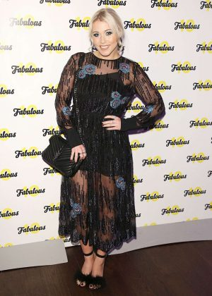 Amelia Lily - Fabulous Magazine 10th Birthday Party in London
