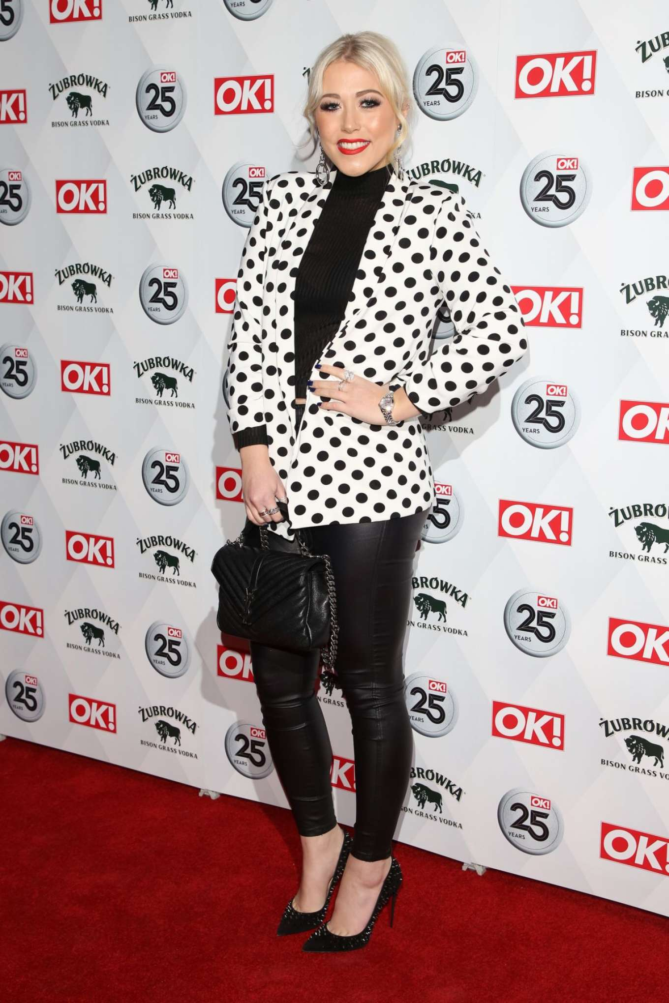 Amelia Lily -  OK! Magazine's 25th Anniversary Party in London