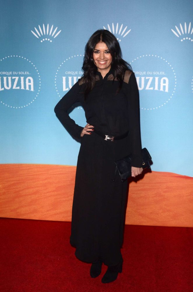 Amelia Racine - 'Luzia' Premiere in Los Angeles