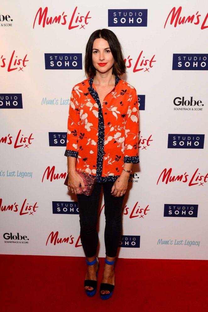 Amelia Warner - 'Mum's list' Premiere in London