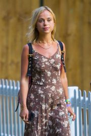 Amelia Windsor at Neil Young and Bob Dylan at Hyde Park in London